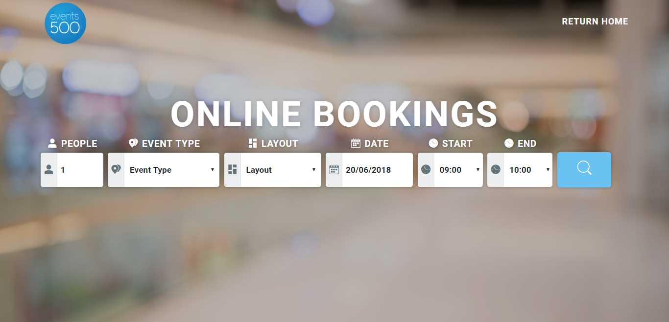 Online Bookings Module now available